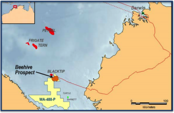 Will a decision by Santos and/or Total to drill an exploration well benefit Melbana?