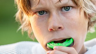 Up there Cazaly! Miner to move into mouthguards
