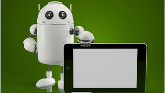bigstock-Robot-With-Tablet-Computer-48070220