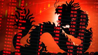 Chinese markets hit record high after US falls back on big bank earnings