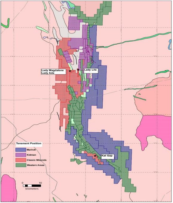 Kat Gap adjoins the Forrestania Nickel Project currently operated by Western Areas (ASX:WSA)