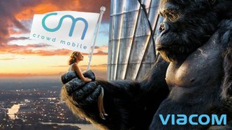 Crowd Mobile secures partnership with media giant Viacom