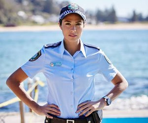 It was the ASX who booked St. George, not Home and Away's Constable Chapman.