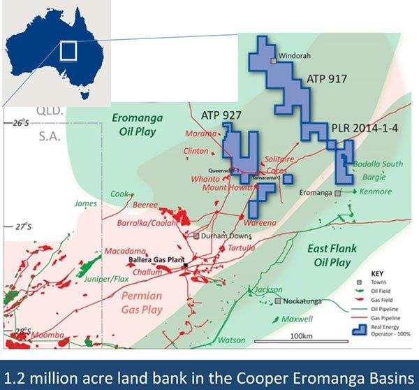 Real energy cooper eromanga basin