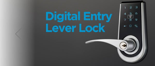 digital entry lever lock