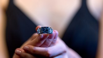Precious blue diamond recovered in the Northern Territory