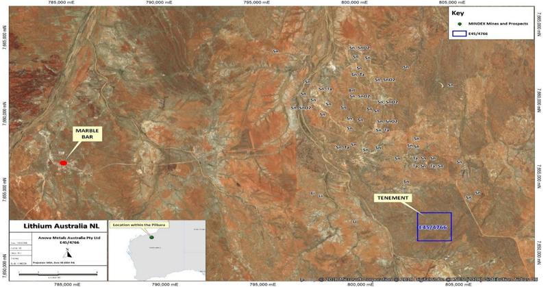 Map LIT Moolyella