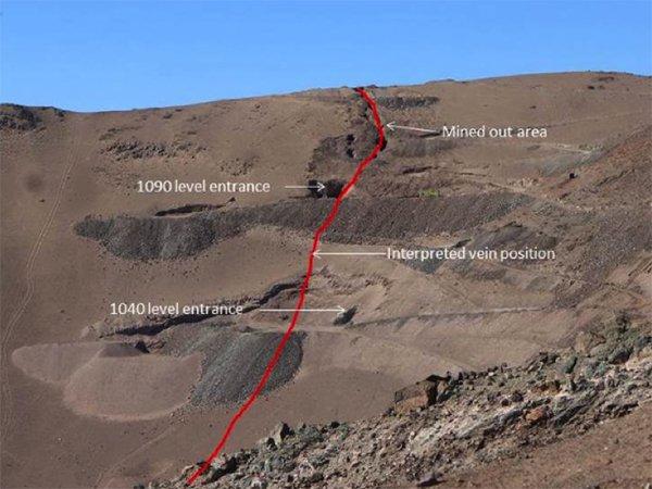 San Sebastian Mine shafts