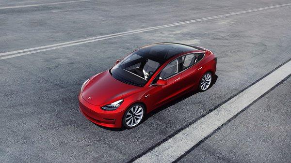 The $35,000 Tesla Model 3.