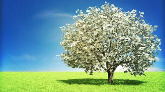 Who said money doesn't grow on trees?