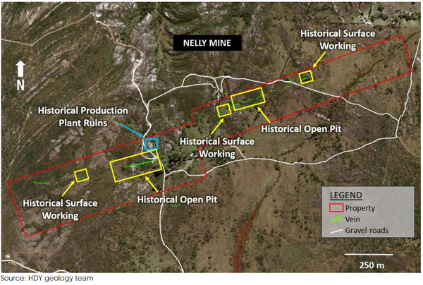 Hardey Resources will evaluate its new discoveries