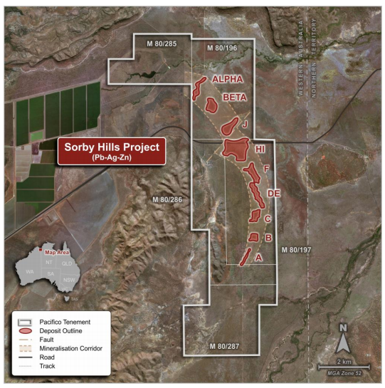 The Sorby Hills Project