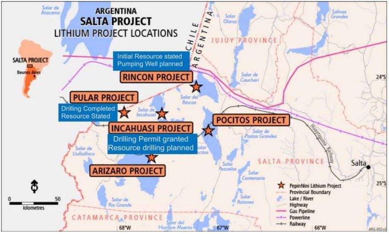 Salta Lithium Project, Argentina