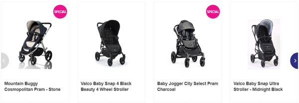 Prams seem to have more moving parts than space shuttles.