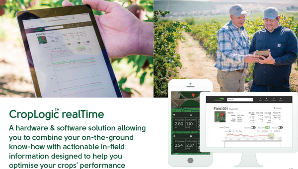 CropLogic's RealTime application can help to optimise crop yields.