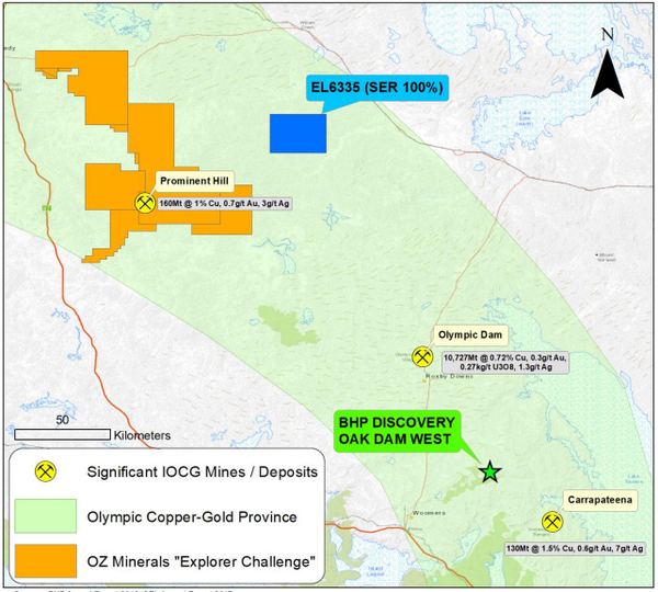 SER's Saxby Gold Project is a significant gold exploration prospect.