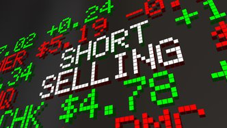 Selling short on the banks was not a good idea