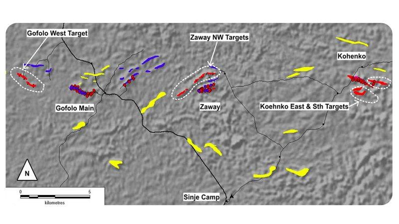Tawana Resources (ASX:TAW) iron ore targets in Liberia