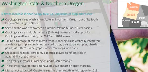 Oregon is an ideal location for CropLogic's hemp trials.